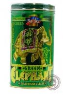 """Чай BATTLER """"Green Elephant"""" 200г ж/б зеленый крупнолистовой ОРА"""