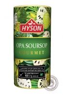 "Чай HYSON ""OPA Soursop"" 100г зеленый"