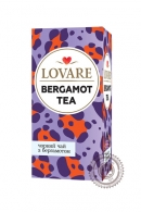 "Чай LOVARE ""BERGAMOT TEA"" черный 24 пак"