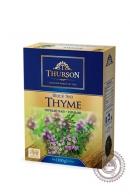 """Чай THURSON """"THYME"""" черный с чабрецом 100г"""