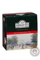 "Чай AHMAD ""English Breakfast"" 100пак черный"