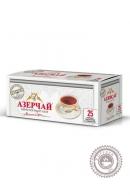 """Чай """"Азерчай"""" 25 пакетов черный с бергамотом 50 г"""