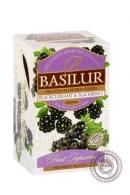 "Чай BASILUR ""Blackcurrant & Blackberry"" фруктовый пакетированный 25 пак"