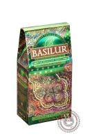"""Чай BASILUR """"Марокканская мята"""" зеленый 100 г"""