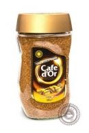 """Кофе Cafe D`Or """"Gold"""" растворимый 200г ст/б"""
