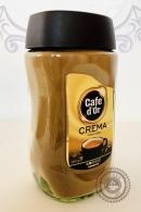 """Кофе Cafe D`Or """"CREMA"""" растворимый 160г ст/б"""