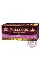 """Чай Williams """"Cherry Blossoms"""", черный 25пак с натуральным ароматом вишни"""