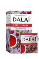 "Чай DALAI "" Cherry Delight"" (чайный напиток) 25 пакетов"