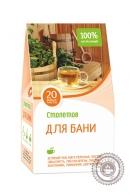 """Чайный напиток СТОЛЕТОВ """"Для Бани"""" 20 пакетов"""
