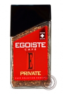 "Кофе EGOISTE ""PRIVATE"" растворимый 100г"