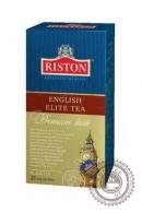 "Чай RISTON ""English Elite"" (с бергамотом) 25 пак чёрный"