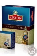 """Чай RISTON """"English Elite"""" (с бергамотом) 100 пак черный"""