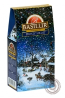 "Чай BASILUR ""Frosty Night"" черный 100 г"