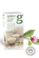 Чай GRACE зеленый с маслом бергамота 25 пакетов