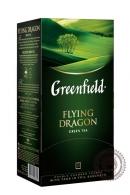 "Чай GREENFIELD "" Flying Dragon"" зеленый 25 пакетов"