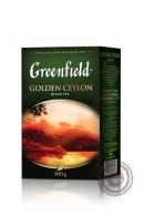 """Чай GREENFIELD """"Golden Ceylon"""" 100г черный крупнолистовой"""