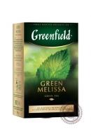 "Чай GREENFIELD ""Green Melissa"" зелёный 85 г"