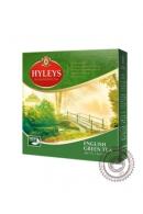 "Чай Hyleys ""English Green Tea"" зеленый 100 пакетов"