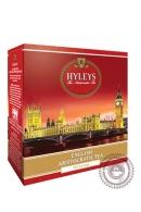 """Чай Hyleys """"Английский аристократический"""" черный 100 пак"""