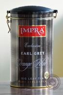 """Чай IMPRA """"Earl Grey Tea"""" черный 250г в ж/б"""