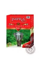 """Чай IMPRA """"Premium"""" черный крупнолистовой 100г"""