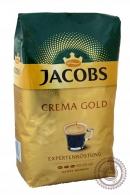 """Кофе JACOBS """"Crema Gold"""" зерновой 1000г"""