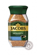 "Кофе JACOBS ""Monarch Decaff"" без кофеина, растворимый стекло 95 г"