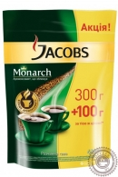 """Кофе JACOBS """"Monarch"""" 400 г растворимый сублимированный"""
