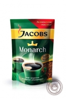 """Кофе JACOBS """"Monarch"""" 230 г растворимый сублимированный"""