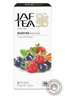 """Чай Jaf Tea """"Forest fruit"""" черный 25 пакетов по 1,5гр"""