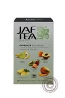 """Чай JAF TEA """"Fruit Melody"""" (фруктовая мелодия) 20 пакетов зелёный"""