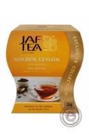 """Чай JAF TEA """"Golden Ceylon"""" 100г черный крупнолистовой"""