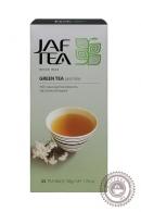 "Чай JAF TEA ""Jasmine"" (с жасмином) зеленый 25пак х 2г"