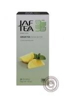 """Чай JAF TEA """"Lemon & Mint"""" (с лимоном и мятой) 25 пакетов"""