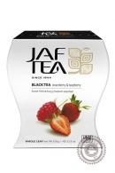 "Чай JAF TEA ""Strawberry & Raspberry"" (клубника, малина) 100г черный"