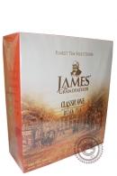 """Чай James & Grandfather """"Black Tea"""" черный 100 пакетов по 2 г"""