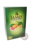 "Чай James & Grandfather ""Green tea with Citrus"" зеленый цитрус 100 г"