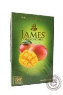"Чай James & Grandfather ""Mango"" зелёный 100г"