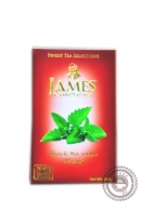 """Чай James & Grandfather """"Mint"""" черный 100г"""