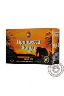 Чай ПРИНЦЕССА КАНДИ 100 пакетов черный без ярлыка