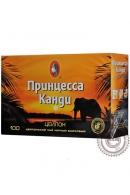 Чай ПРИНЦЕССА КАНДИ 100 пакетов черный с ярлыком