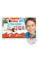 Шоколад KINDER 100г порционный (молочный)