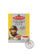 Чай St.Clair's Black tea Earl Grey O.P.A чёрный 100г