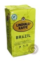 """Кофе Lindvalls """"Brazil"""" молотый 450 г"""