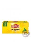 "Чай Lipton ""Yellow Label"" черный 25 пакетов"