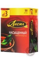 """Чай Лисма """"Насыщенный"""" черный в пакетиках, 100 шт"""