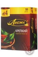 """Чай Лисма """"Крепкий"""" черный в пакетиках, 100 шт"""