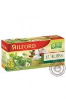 "Чай MILFORD ""12 трав"" 20 пакетов"