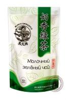 """Чай Чёрный Дракон """"Молочный зелёный чай"""" 100 г"""