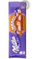 """Молочный шоколад """"Milka"""" с цельным фундуком и карамелью 300г"""